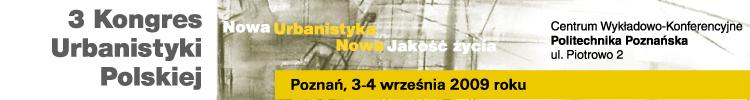3 Kongres Urbanistyki Polskiej Poznań